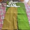 【陵雅の衣裳部屋】大口袴の試作を仮縫いする。