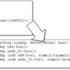 オリジナルLLVMバックエンド実装をまとめる(8. メモリアクセス命令の生成について)