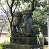 <新春だから神社巡り1>地元の神社の狛犬が子連れで逆さでエトセトラ