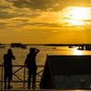 【カンボジア旅行記】東南アジア最大の湖!トンレサップ湖でサンセット。3日目後編【2018.6.11】