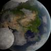 Blenderで地球を描いてみた(通算2回目)