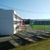 タイケン学園 設立の改修工事始まってます(旧鳴瀬一中)