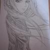9月5日に漫画「乙嫁語り」のキャラクターを描いてみた。
