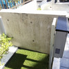 見栄えの悪い打ちっぱなしコンクリート壁の補修・美装
