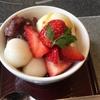 今日も、いただきます! ~「かごの屋」 鮭といくらの釜めし&あまおう苺の白玉クリームあんみつ