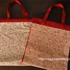 【簡単な裁縫】巾着手提げバッグの作り方(高齢者の暇つぶし・入院中)