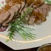 全日本フィギュア&豚の塩釜焼、海老の紹興酒蒸し、チップス2種