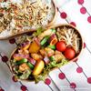 #599 鶏肉とカラフル野菜の甘辛弁当