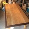 ダイニングテーブル天板納品