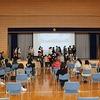 6年生:修学旅行報告会④ 1組 最後に記念撮影