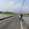 おばあちゃんちへサイクリング