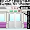 東京の地下鉄全車両に防犯カメラ、画像7日保存