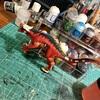 【ウォーハンマー日記】カルノサウルス(ほぼ)完成だマン