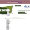 バクテリアゲノムの比較ゲノム解析を行うwebサービス EDGAR
