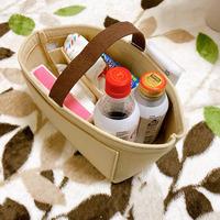10秒で鞄チェンジ!3COINSの「持運び収納ケース」がバッグinバッグに最適!!