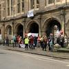 大学でストライキ