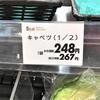 野菜が高い!(T_T)