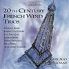 20世紀フランスの木管三重奏集