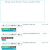 Flask:オーディオファイルをjQuery.ajaxでアップロードしながら、クライアント側でローカルのファイルを再生