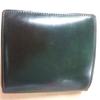 ヤフオク万歳 愛しのブレイリオのコードバンの財布を激安で手に入れた!