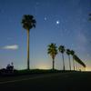 こっそり星空お夜食ツーリング