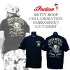 インディアンモトサイクル・INDIANMOTOCYCLE× BETTYBOOP・ベティーブープ/NO.2× 限定Tシャツ