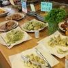「道の駅 季楽里あさひ」のランチバイキングは地元の食材をふんだんに使った料理が食べられるよ。