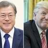 食い違い米韓電話首脳会談