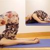 腰背中のストレッチ&胸を開く-すきのポーズ、魚のポーズ Yoga Stretching