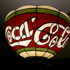 Coca-Cola Tiffany Floor Lamp