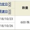 【10/23】利益確定&保有期間
