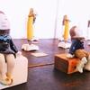 『星いっぺい・陶人形展』飾り付け完了