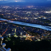 岐阜城パノラマ夜景2021(夏は8月31日まで開催)