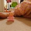 【3歳児の母性が爆発!】100円ショップの人形がきっかけでリズモ(Rizmo)をゲットした娘の話。