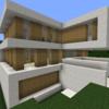 【Minecraft】モダンな豪邸を作る① 外装編【コンパクトな街をつくるよ29】