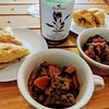 福島屋で買った牛肉で赤ワイン煮込みを作ってみた。バーミキュラ便利。(千代田区外神田)