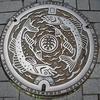 浜松市肴町のマンホールの蓋(2)