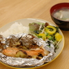北海道塩鮭のちゃんちゃん焼き風ホイル焼き