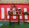 倉敷市真備町の家 地鎮祭