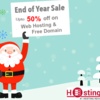 Best Year End & New Year 2017 Sale OFFERS & Discounts from Web Hosting Sites