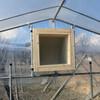 ビニール温室の改造