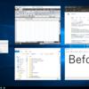 Windows10を黒に染める - ハイコントラストテーマの色調整