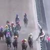 北村宏司騎手落馬瞬間映像!ピンクカメハメハレース中の急性心不全で死去!