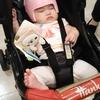 ヘルメット調整(生後5ヶ月と2日目)