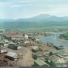 占領から10年 カラーで撮られた択捉島・紗那の町並み
