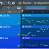 FL Studio で色をグラデーションしたり名前をそろえたりする方法