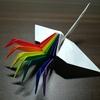 自由にカスタマイズ可能なユニット式折り鶴を開発した