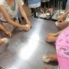 サラダピザ&バジルピザ作りました@健康プラザ紫雲寺ハープ&スパイスクッキング教室