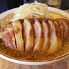 肉汁ラーメン 公kimi@新馬場-中豚一本チャレンジ-