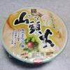 セブンイレブンのカップ麺「山頭火」の塩とんこつスープが絶品!